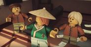 EP81 Harumi's family prepares to escape