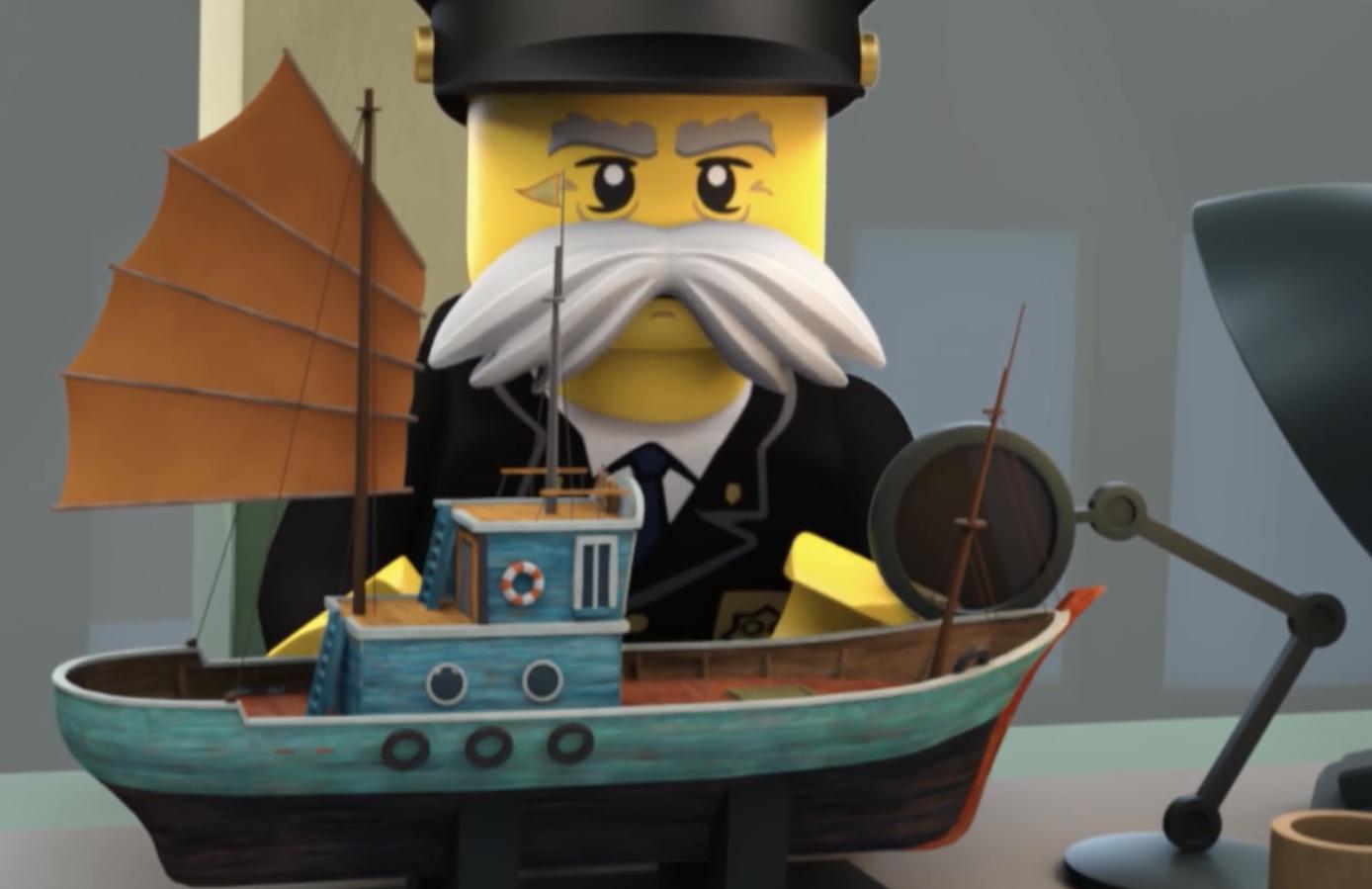 Police Commissioner's Model Boat