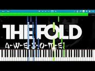 LEGO NINJAGO - A-W-E-S-O-M-E by The Fold - Synthesia Piano Tutorial