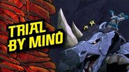 In the Skull Dungeons 'Trial By Mino' – LEGO® NINJAGO® Master of the Mountain