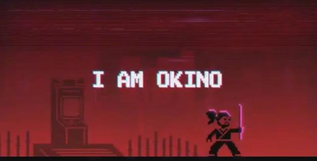 Моё имя Окино