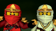 Lego Ninjago Kai and Zane Who Cares