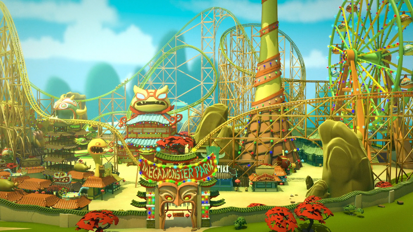 Mega Monster Amusement Park