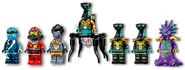 71755 Temple of the Endless Sea Minifigures