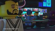 Окино в эпизоде «Гонка пяти миллиардов»