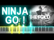 LEGO NINJAGO - Ninja Go ! by The Fold - Synthesia Piano Tutorial