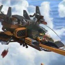 Sky Pirate Jet - LEGO Ninjago - 70601 - Product Animation