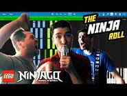 LEGO NINJAGO - The Ninja Roll by The Fold - Synthesia Piano Tutorial