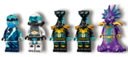 71754 Water Dragon Minifigures