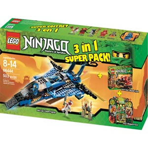 66444 Ninjago 3-in-1 Superpack