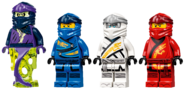 71749 Final Flight of Destiny's Bounty Minifigures