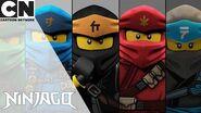 Ninjago Ninjas Vs Frost Wolves Cartoon Network UK 🇬🇧