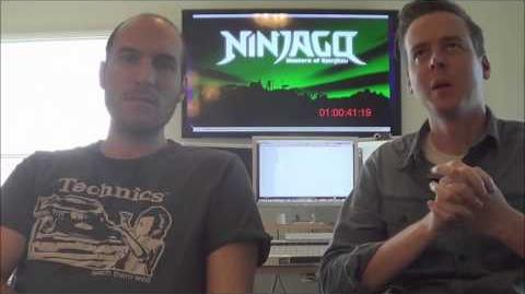 Jay Vincent and Mike Kramer (Ninjago Composers) Interview - Part 3 4