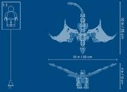 71718 Wu's Battle Dragon Dimensions