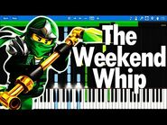 LEGO Ninjago theme song - The Fold - The Weekend Whip - Synthesia Piano Tutorial