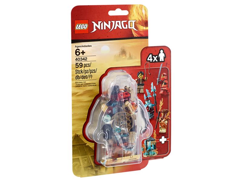 40342 LEGO NINJAGO 2019 Minifigure Set