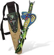 850455- Ninjago Sheath with Snake Sword