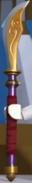 Cropped naginata