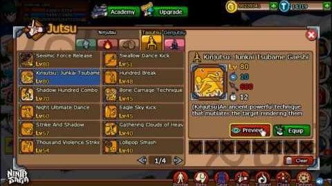 Ninja Saga Clan Reward S45 Jounin Gakure Champion