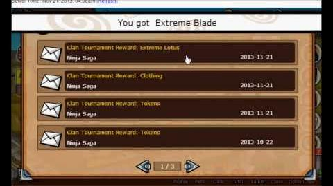 Ninja Saga Clan Reward S43 Jounin Gakure Champion