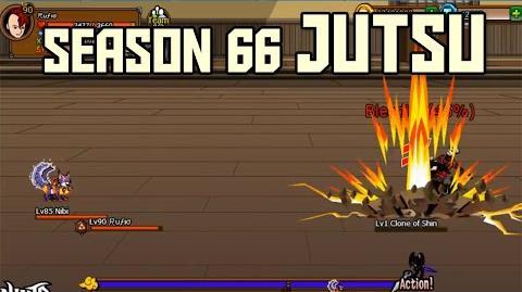 Ninja Saga - Season 66 Kinjutsu- Advanced Star Fire Break