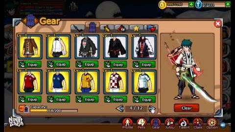 Ninja Saga Clan Reward S44 Jounin Gakure Champion