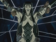 Ubume releasing her rodents