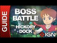 Ni No Kuni - Boss Battle Strategy- Hickory Dock