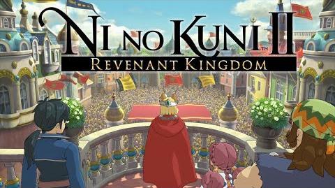Ni no Kuni II Revenant Kingdom - Announcement Trailer PS4, PC