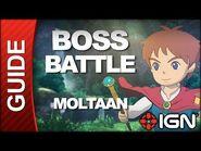 Ni No Kuni - Boss Battle Strategy- Moltaan
