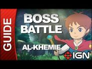 Ni No Kuni - Boss Battle Strategy- Al-Khemie (Genie)