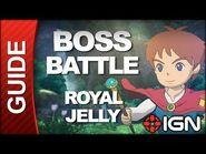Ni No Kuni - Boss Battle Strategy- Royal Jelly