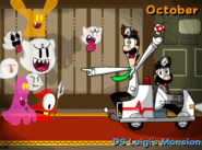 Nintendask Mario Kart 2017 Calander Project - Askthedrbros - October - DS Luigi's Mansion