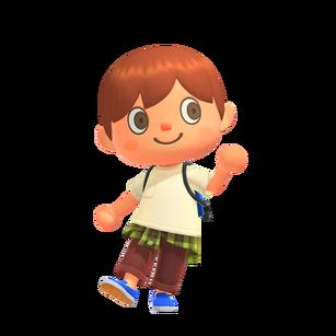 Animal Crossing New Horizons - Character artwork 01