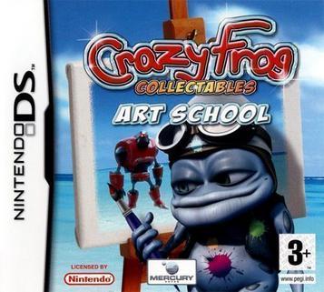 Crazy Frog Collectables: Art School