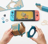 Nintendo Labo - Variety Kit - Fishing Rod - Constructing