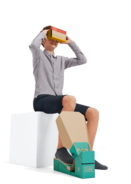 Nintendo Labo - VR Kit - Artwork - Pedal