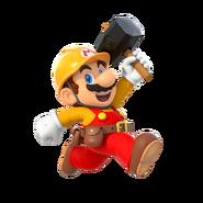Super Mario Maker 2 - Mario running artwork