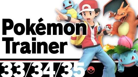 33-35- Pokémon Trainer – Super Smash Bros. Ultimate