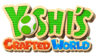 Yoshi's Crafted World logo.png