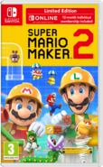 Super Mario Maker 2 box art - Limited Edition (UK)