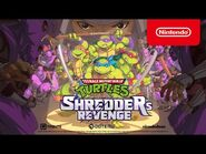 Teenage Mutant Ninja Turtles- Shredder's Revenge - Announcement Trailer - Nintendo Switch