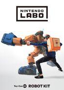 Nintendo Labo - Illustration - Robot Kit 02