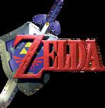 The Legend of Zelda Ocarina of Time logo.png