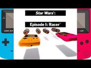 Star Wars Episode I- Racer (Game Boy Color-GBC-Commercial)