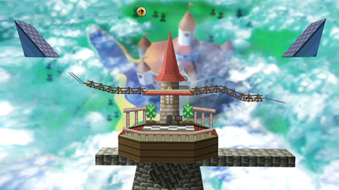 Peach's Castle (Super Smash Bros.)