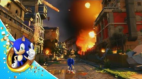 Sonic Forces - First Modern Sonic Gameplay