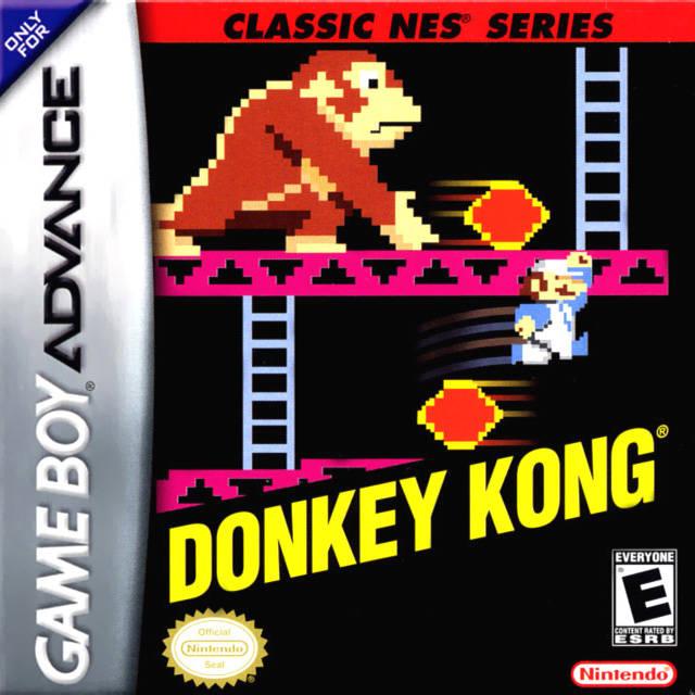 Classic Nes Series Donkey Kong Nintendo Fandom