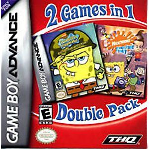 2 Games in 1 Double Pack - SpongeBob SquarePants: Battle for Bikini Bottom & Nicktoons: Freeze Frame Frenzy