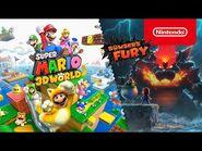 ¡Explorad en compañía un colorido mundo en Super Mario 3D World + Bowser's Fury! (Nintendo Switch)